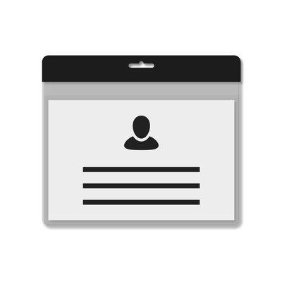 MeetingLinq A7 Badgehouder Zwart incl. gratis papier vanaf € 0,36 per stuk