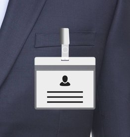 MeetingLinq A7 Badge holder White