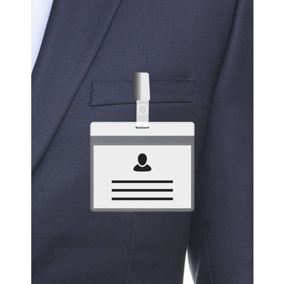 MeetingLinq A7 Badge holder White including free paper from € 0.36 each