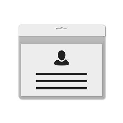 MeetingLinq A7 Ausweishalter Weiß inklusive Gratispapier ab je 0,36 €