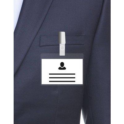 MeetingLinq Ausweishalter Transparent - Enthält kostenloses Ausweispapier