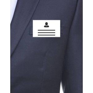 MeetingLinq Ausweisinhaber Kreditkartenformat mit Clip