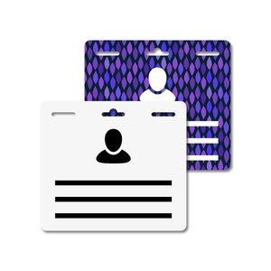 MeetingLinq Butterfly Badge - Medium - 3 Badges per sheet
