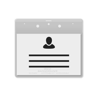 MeetingLinq BIO-D Ausweishalter, A7-Format