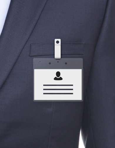 MeetingLinq BIO-D Badgehouder, A7 formaat