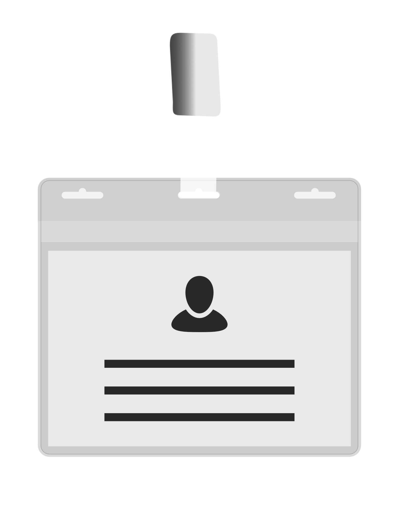 MeetingLinq BIO-D Ausweishülle, Din A7-Format 3 Steckplatze. Format A6. Zertifizierter biologisch abbaubarer Ausweisinhaber.