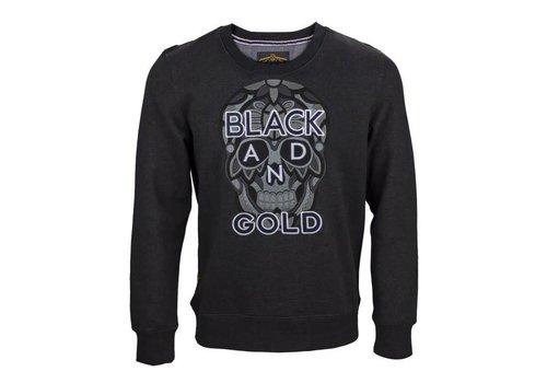 Black and Gold Black and Gold BG-82-SW-13 Craneo Nero dark grey melange