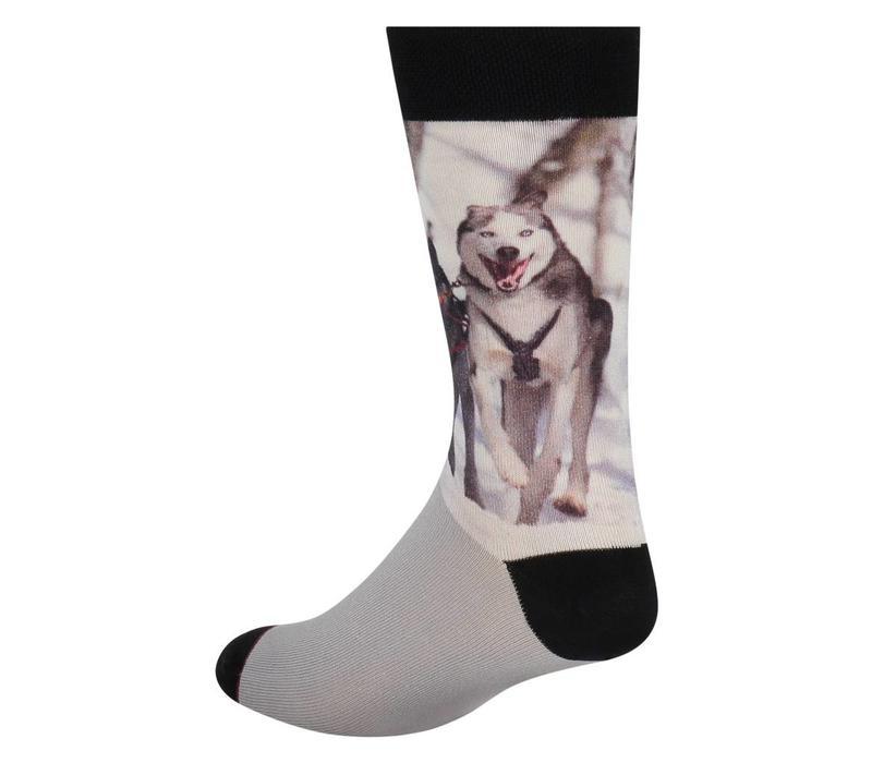 Sock my Feet model Sock my huskies HW18M004