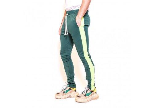 Radical Radical Trackpants PF180309 Green/Fluor