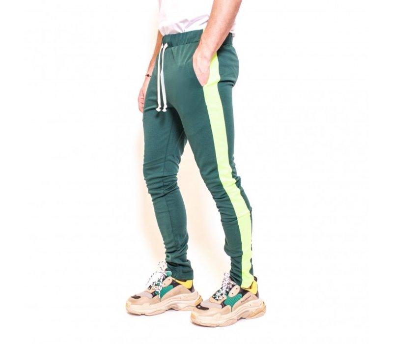 Radical Trackpants PF180309 Green/Fluor