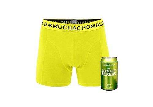 Muchachomalo Muchachomalo Cans 1-pack boxershort Lime