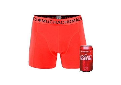 Muchachomalo Muchachomalo Cans 1-pack boxershort Coral