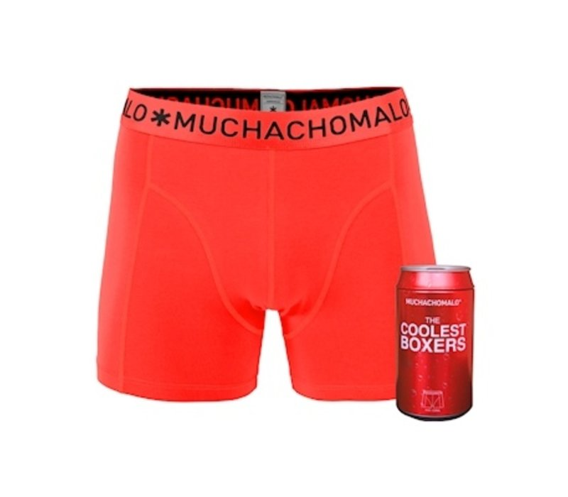 Muchachomalo Cans 1-pack boxershort Coral