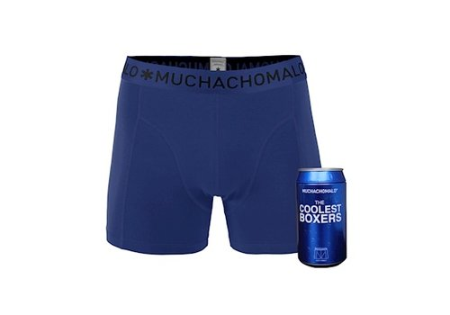 Muchachomalo Muchachomalo Cans 1-pack boxershort Cobalt