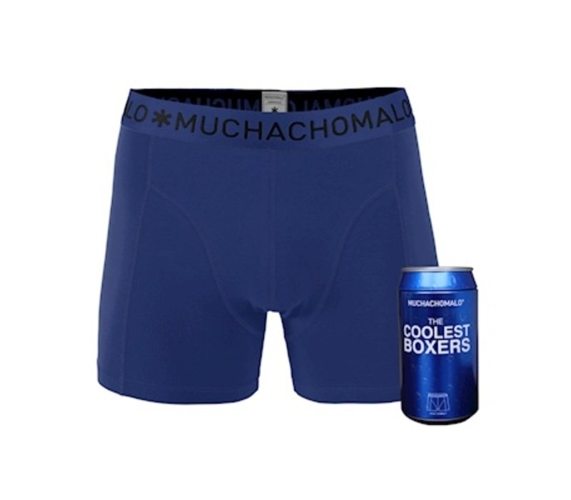 Muchachomalo Cans 1-pack boxershort Cobalt