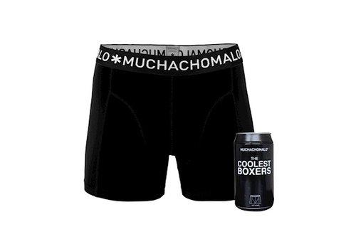 Muchachomalo Muchachomalo Cans 1-pack boxershort Black
