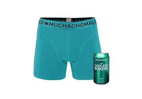 Muchachomalo Muchachomalo Cans 1-pack boxershort Aqua