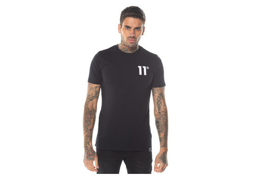 11 Degrees 11 Degrees Core Muscle Fit T-shirt Black