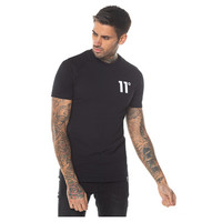 11 Degrees Core Muscle Fit T-shirt Black