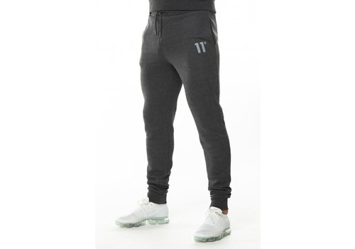 11 Degrees 11 Degrees Core Jogger Skinny Fit Anthracite Marl