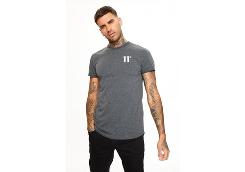 11 Degrees 11 Degrees Core Muscle Fit T-Shirt Anthracite Marl