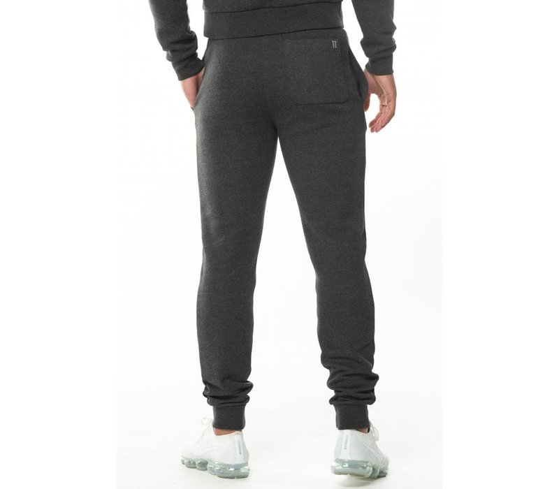 11 Degrees Core Jogger Skinny Fit Anthracite Marl
