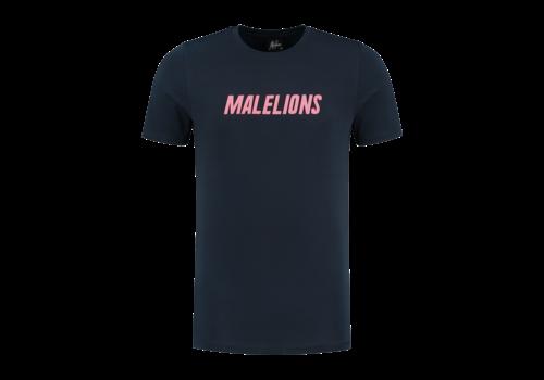 Malelions Malelions Nium Tee Navy