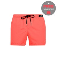 Muchachomalo Swimshort SOLID2062-04 Red