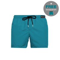 Muchachomalo Swimshort SOLID2062-01 Blue