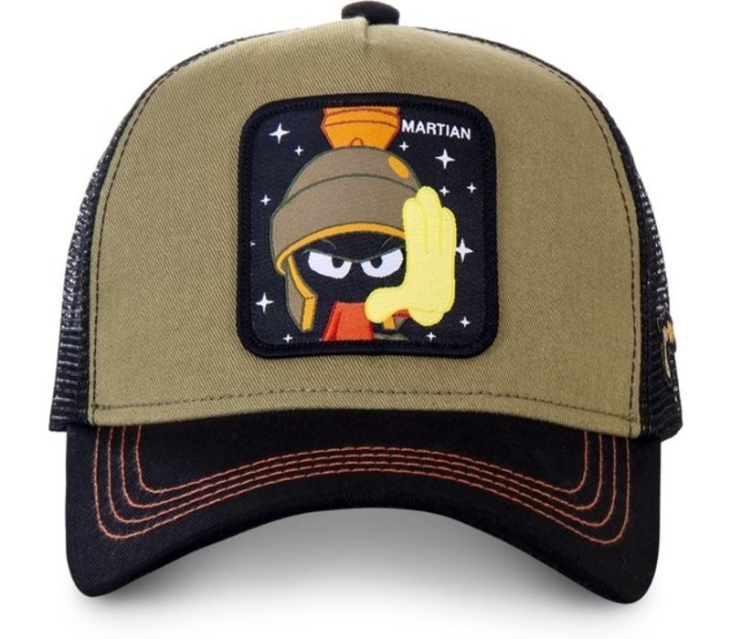 Capslab Cap Looney Tunes Martian Black/Green