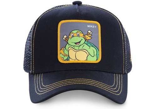 Capslab Cap Ninja Turtles Mikey Zwart