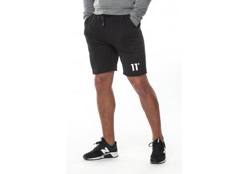 11 Degrees 11 Degrees Core Sweat Shorts Black