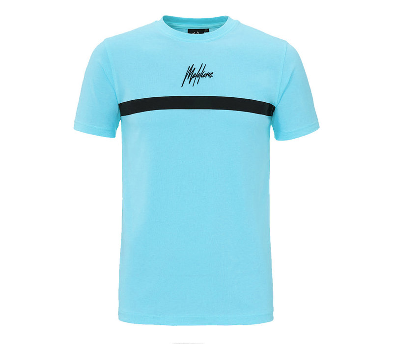 Malelions T-shirt Tonny 2.0 Light Blue