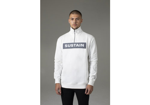 Sustain Sustain Reflective Loose Fit Anorak Sweater White