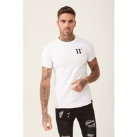11 Degrees Core Muscle Fit T-shirt White
