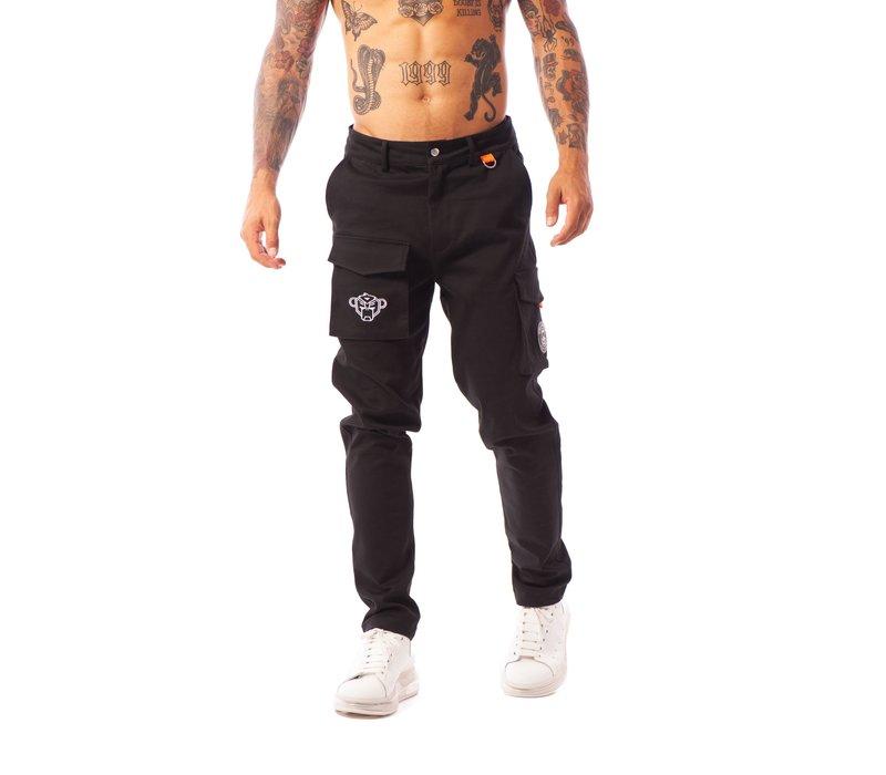 Black Bananas  Carl Cargo Pants  Black