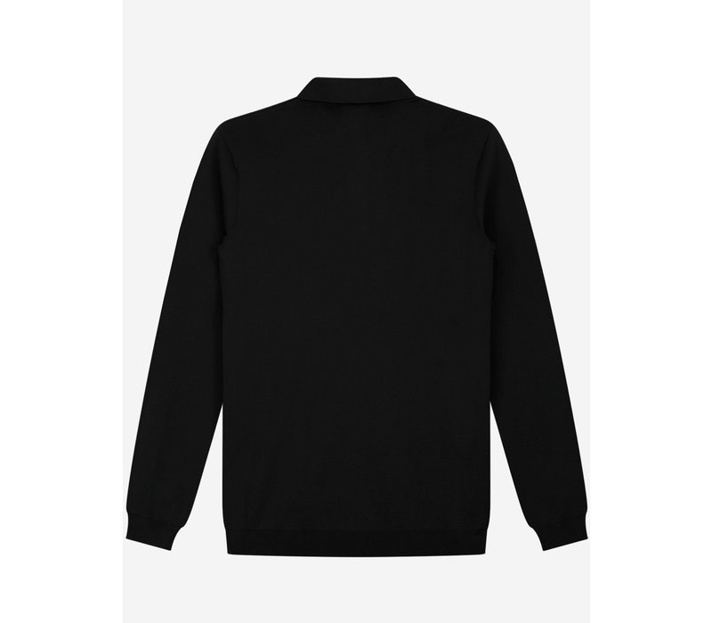 Sustain Long Sleeve Knit Polo