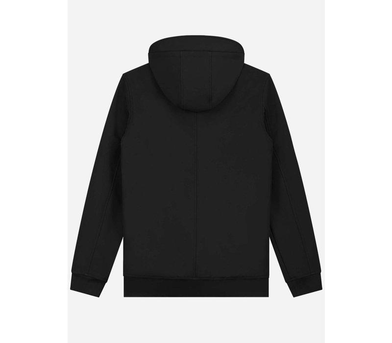Sustain Logo Softshell Jacket Black