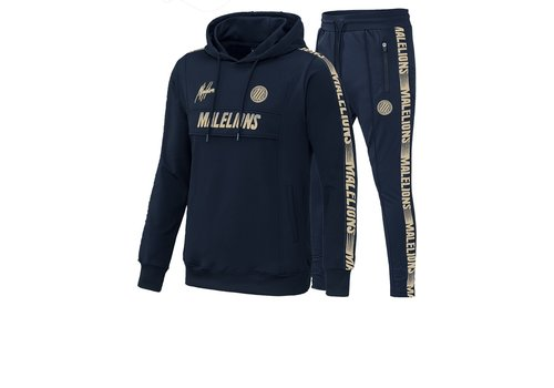 Malelions Malelions Sport Tracksuit Warming Up Navy