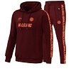Malelions Malelions Tracksuit Warming Up  Bordeaux - Koral Red