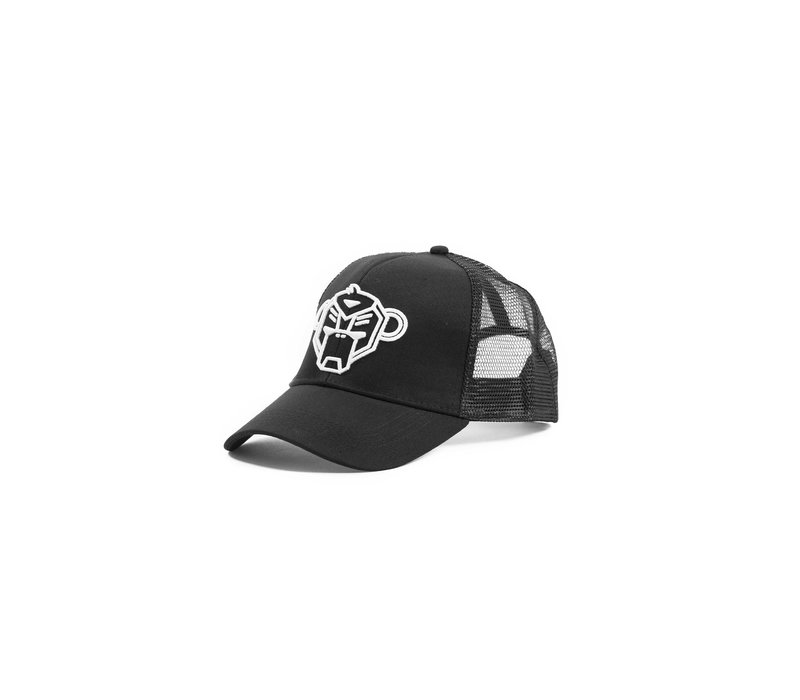 Black Bananas Logo Truckercap Black