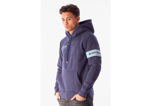 Black Bananas Black Bananas Captain Hoody Navy/LightBlue