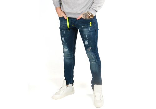 Get Well Jeans Icon 9603 Blue/Yellow
