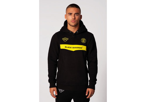 Black Bananas Black Bananas Anorak Neon Hoody Black/ Yellow