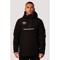 Black Bananas  Anorak Technical Jacket Black