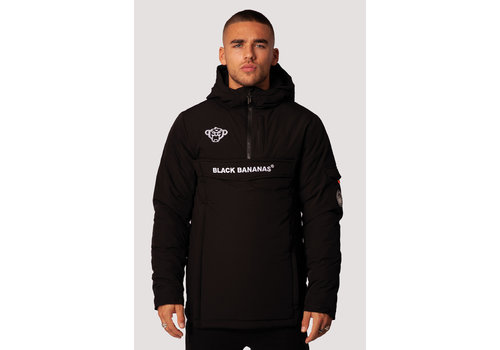 Black Bananas Black Bananas  Anorak Technical Jacket Black