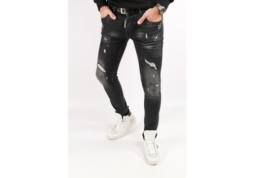 Get Well Jeans Icon 6459 Black/Pink