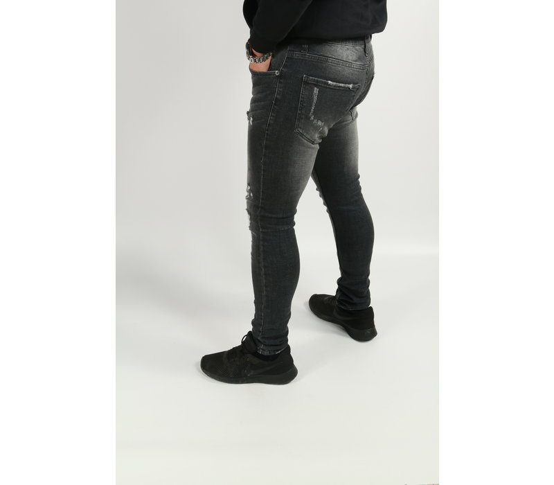 Get Well Jeans Grey/Black Skinny jeans