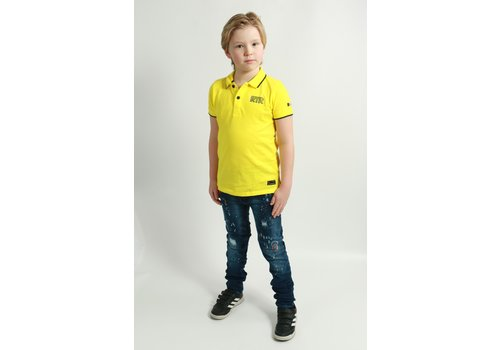 Get Well Icon Jeans Kids Blue/Orange