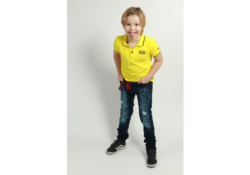 Get Well Icon Jeans Kids Blue/Red
